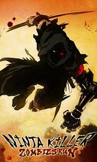 Screenshots of the Ninja killer: Zombies run for Android tablet, phone.