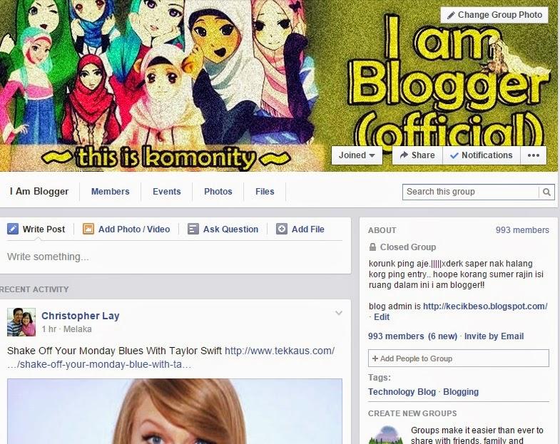 Review Kelab 001 Kelab Blogger I am Blogger