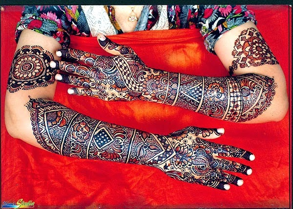 Mehndi Designs Book Pictures for Girls