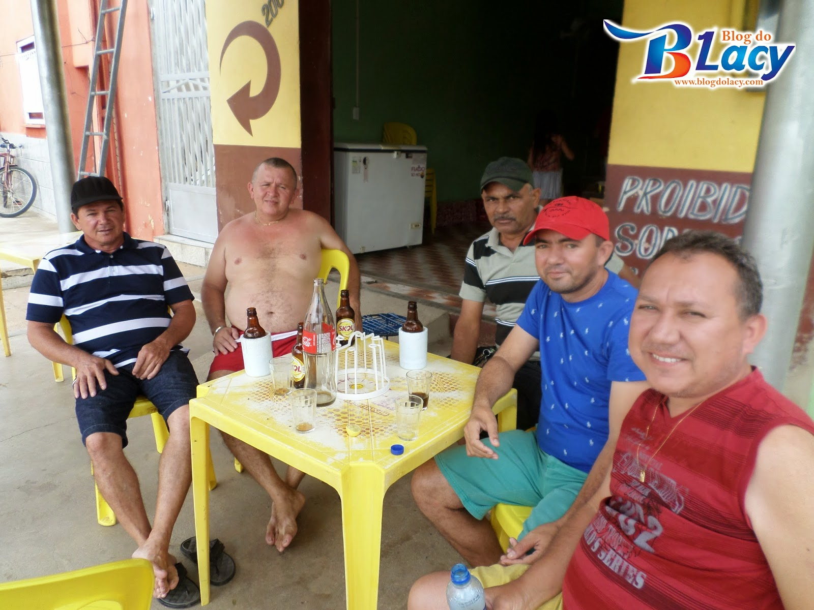 "DOMINGO NO ""BAR DO JUNINHO"" EM LIMA CAMPOS"