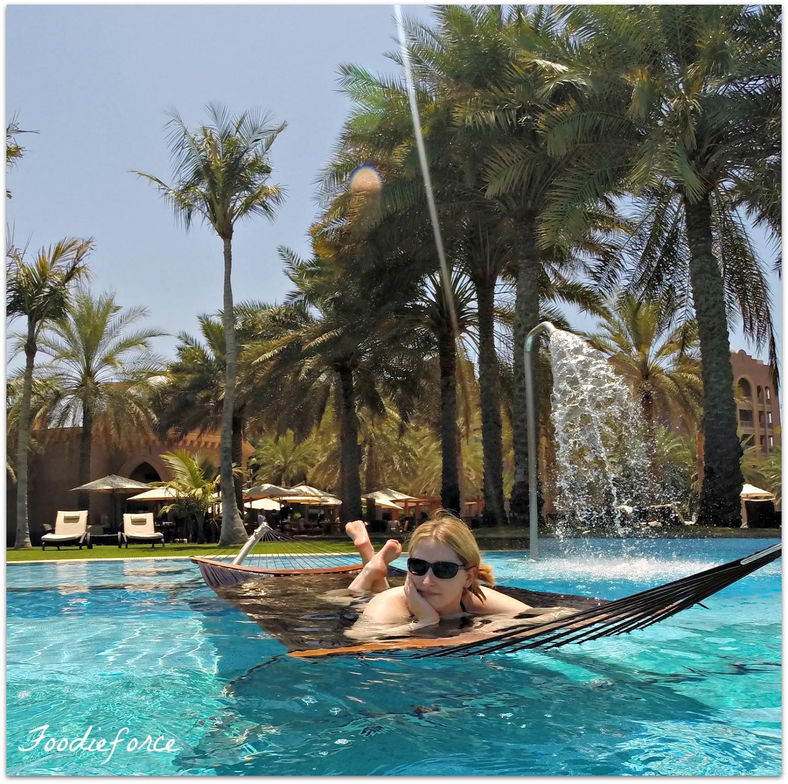 Emirate Palace swimming pool