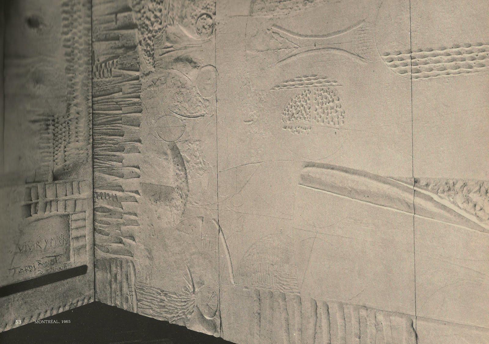 1965-MUSÉE D'ART CONTEMPORAIN MONTRÉAL (ENTREPOSÉE)