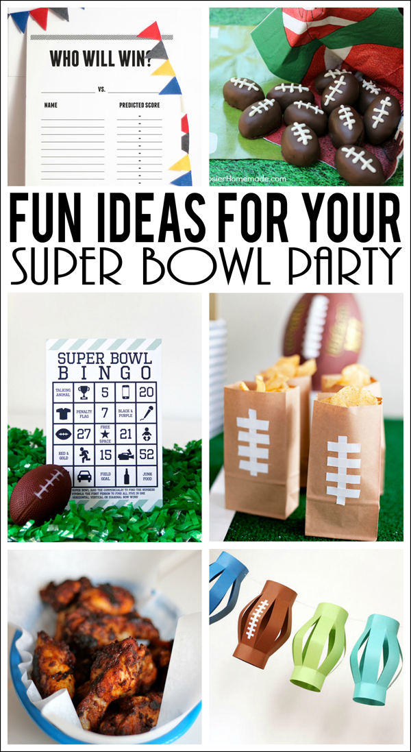 Super Bowl Party Ideas Eighteen25 Bloglovin