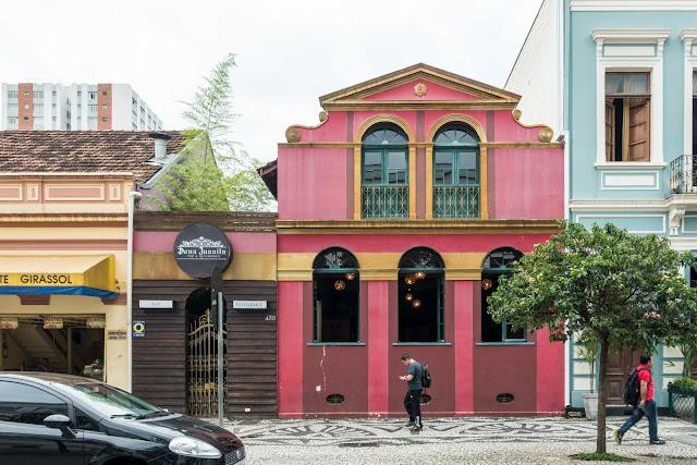Antiga sede do Bar Palácio em Curitiba