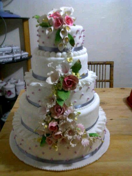 5 TIER DUMMY WEDDING CAKE FOR RENT ONLY RM100/DAY