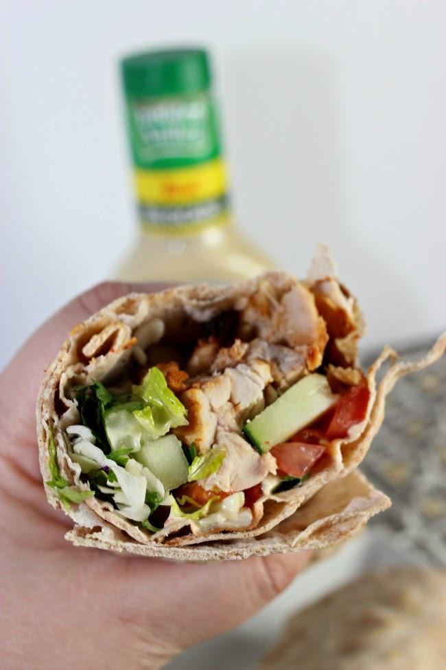 Recipe: Chicken Avocado Ranch Wraps