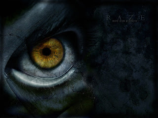 Raze Eye Dark Gothic Wallpaper