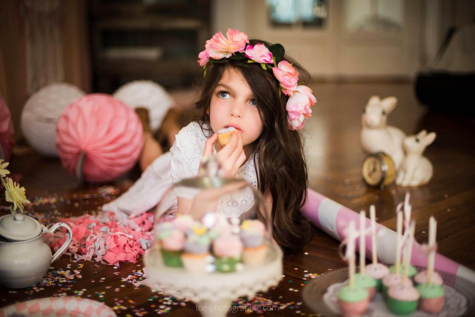 petite file cupcake confettis