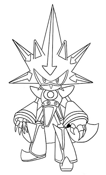 All Sonic Coloring Pages