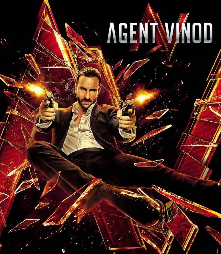 Raabta Saif Ali Khan Arijit Singh Shreya Ghoshal - Agent Vinod