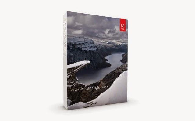 La confezione di Adobe Lightroom 6