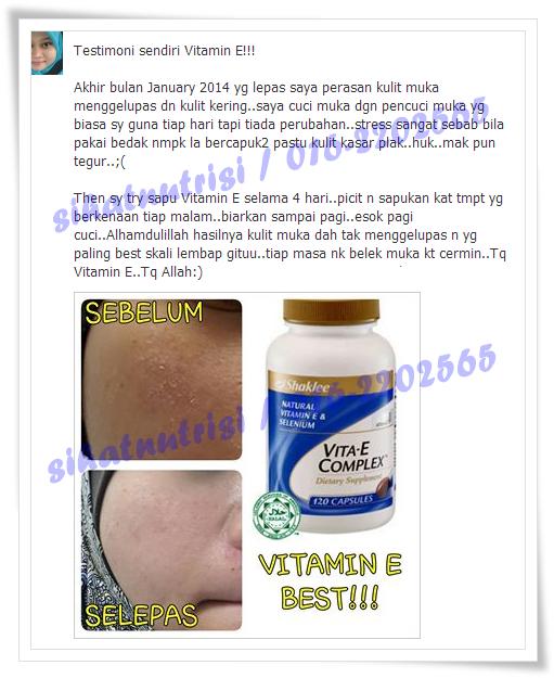Vitamin E untuk kulit cantik