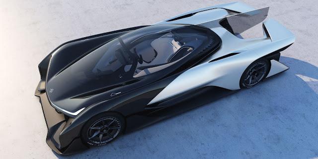 New Electric Car - FFZERO1 Concept Car