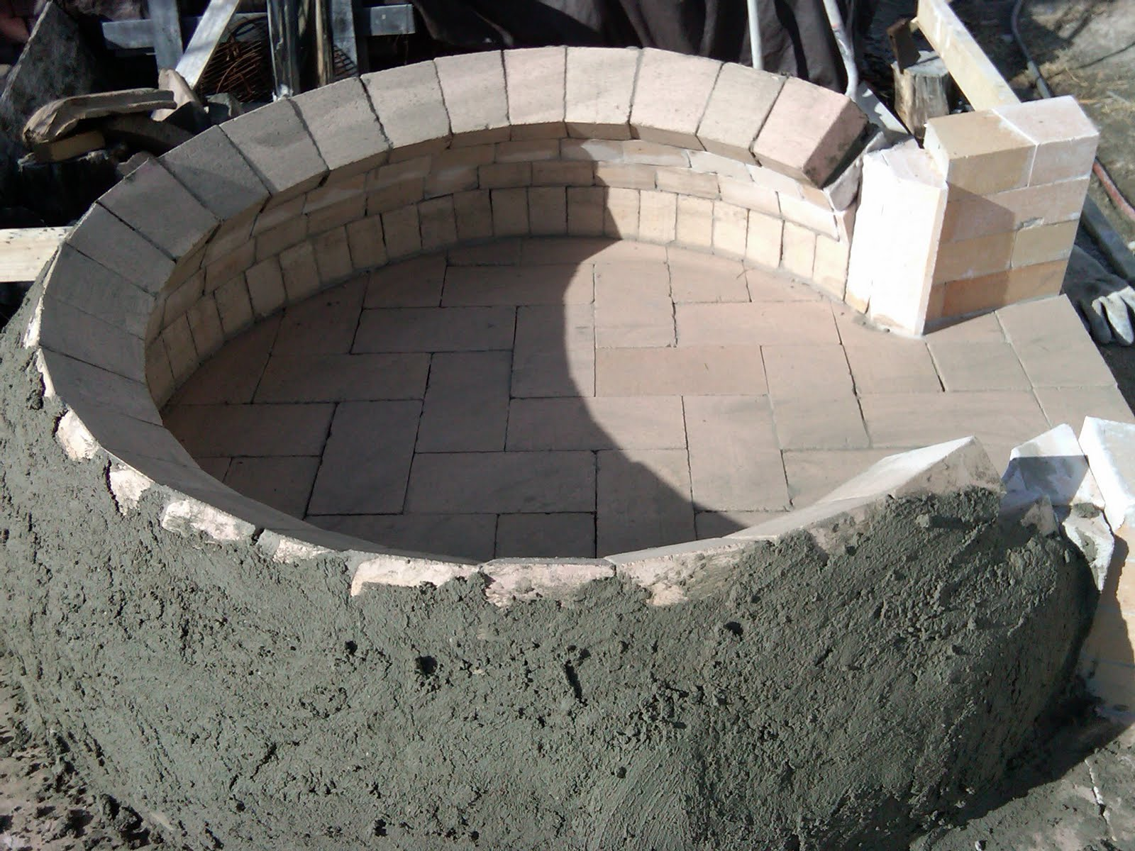 True brick ovens cast refractory wood fired ovens for How to make a brick stove