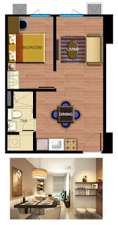Avida Towers Alabang One Bedroom Unit Plan