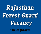 rajasthan forest guard vacancy - www-rajforest-nic-in