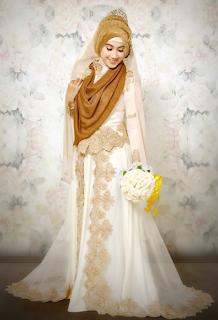 Model Gaun Kebaya Pengantin Muslimah