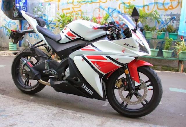 Perubahan Part Yamaha Vixion YZF-R125