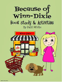 http://www.teacherspayteachers.com/Product/Because-of-Winn-Dixie-Book-Study-Activities-Packet-306292