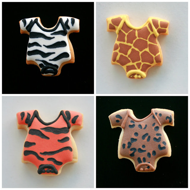 Galletas bodies bebe print animal