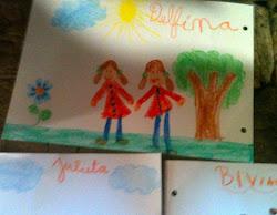 """Los chicos dibujaron """" La casa de la esquina"""""""