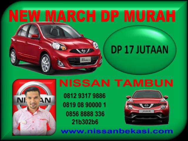 NISSAN NEW MARCH DP MURAH