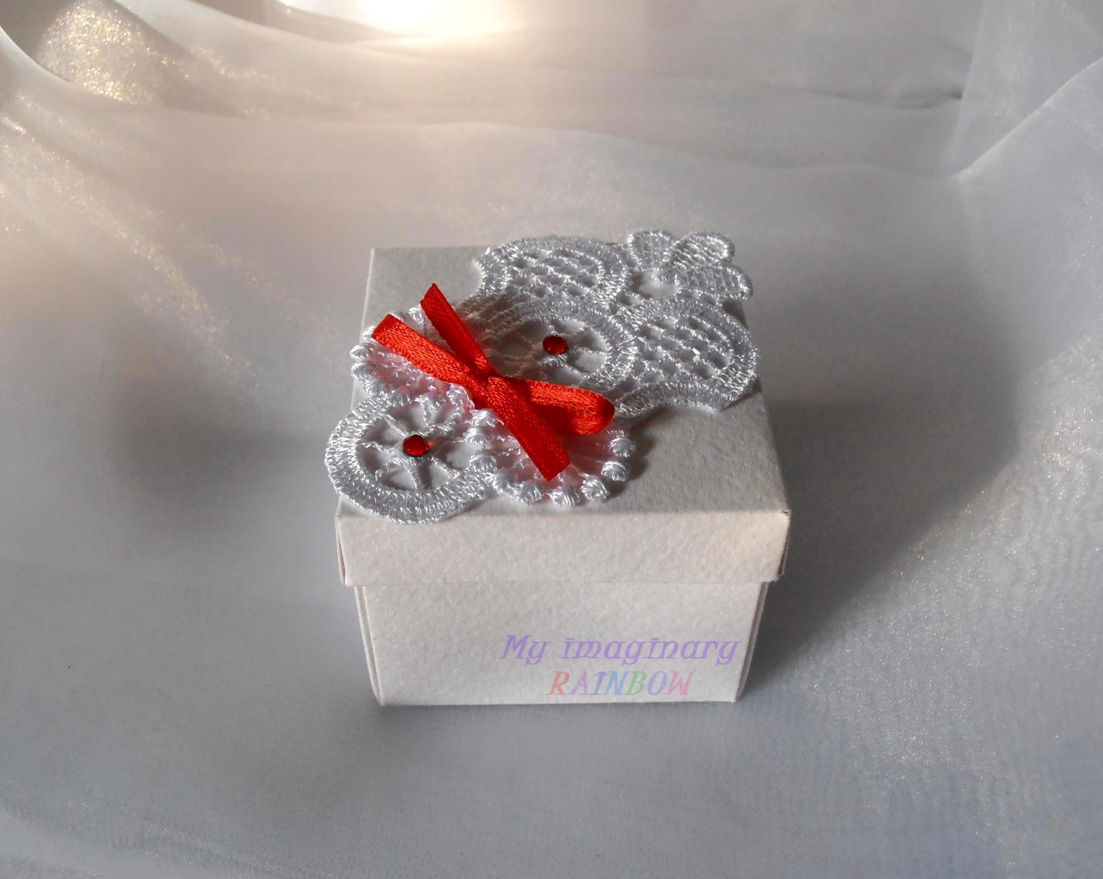 бонбоньерка коробочка схемы