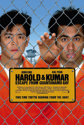 Watch Harold & Kumar Escape from Guantanamo Bay 2008 Hollywood Movie Online | Harold & Kumar Escape from Guantanamo Bay 2008 Hollywood Movie Poster