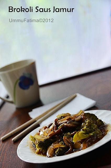 brokoli saus jamur