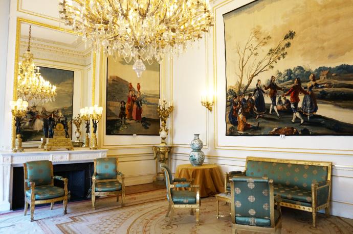 Bruxelles ces mus es qui retracent l 39 histoire de la belgique louise grenadine blog - Salon de the palais royal ...