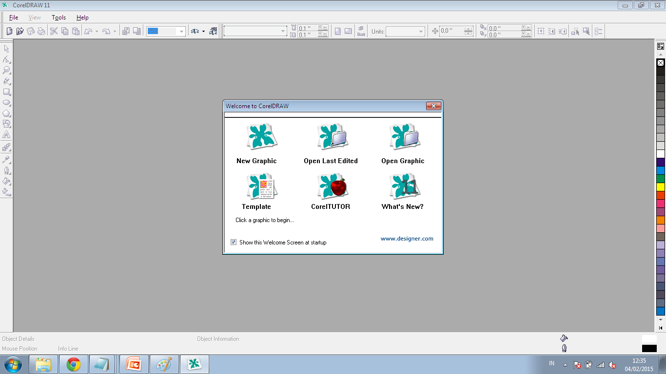 Corel Draw 11 Full Version screenshot