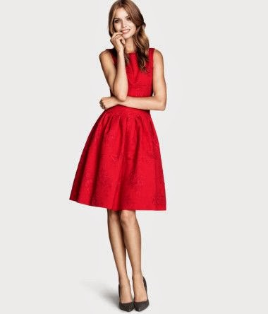 Vestido rojo boda invierno