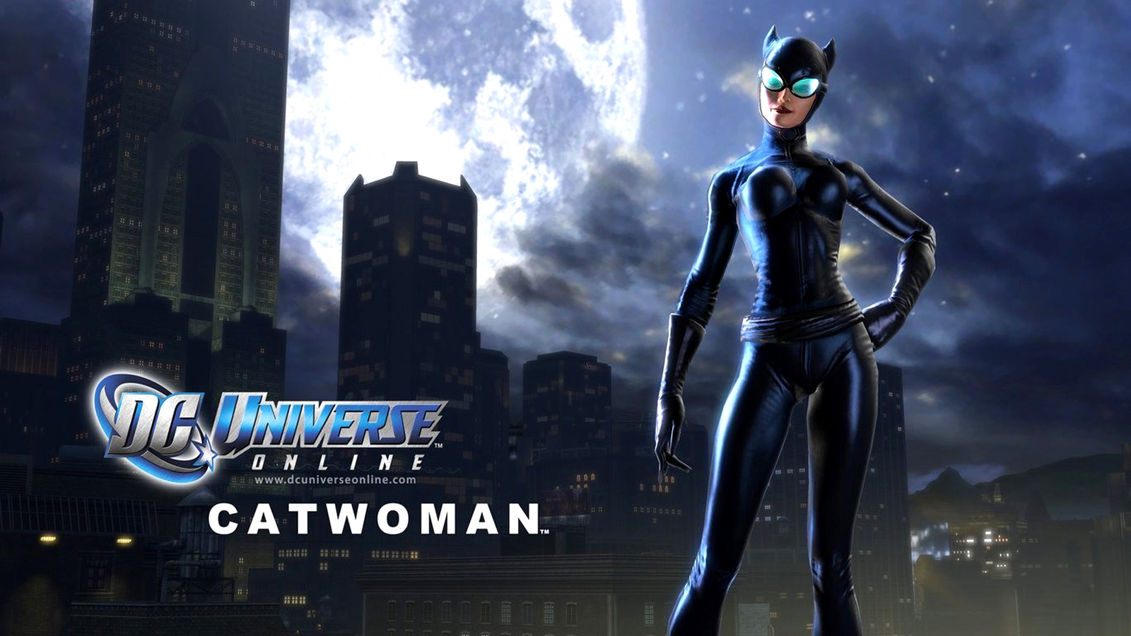 Catwoman DC Universe Online Wallpapers