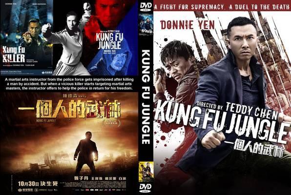 Download Kung Fu Mortal BDRip XviD Dual Áudio Kung Fu Jungle 2014  Front Cover 96843