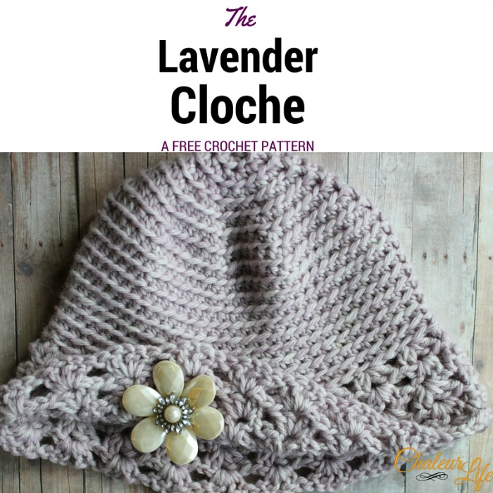 My Hobby Is Crochet Free Crochet Pattern The Lavender Cloche