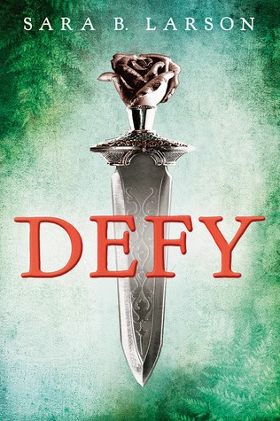http://www.amazon.com/Defy-Sara-B-Larson/dp/0545597587/ref=sr_1_1?ie=UTF8&qid=1390190297&sr=8-1&keywords=Defy