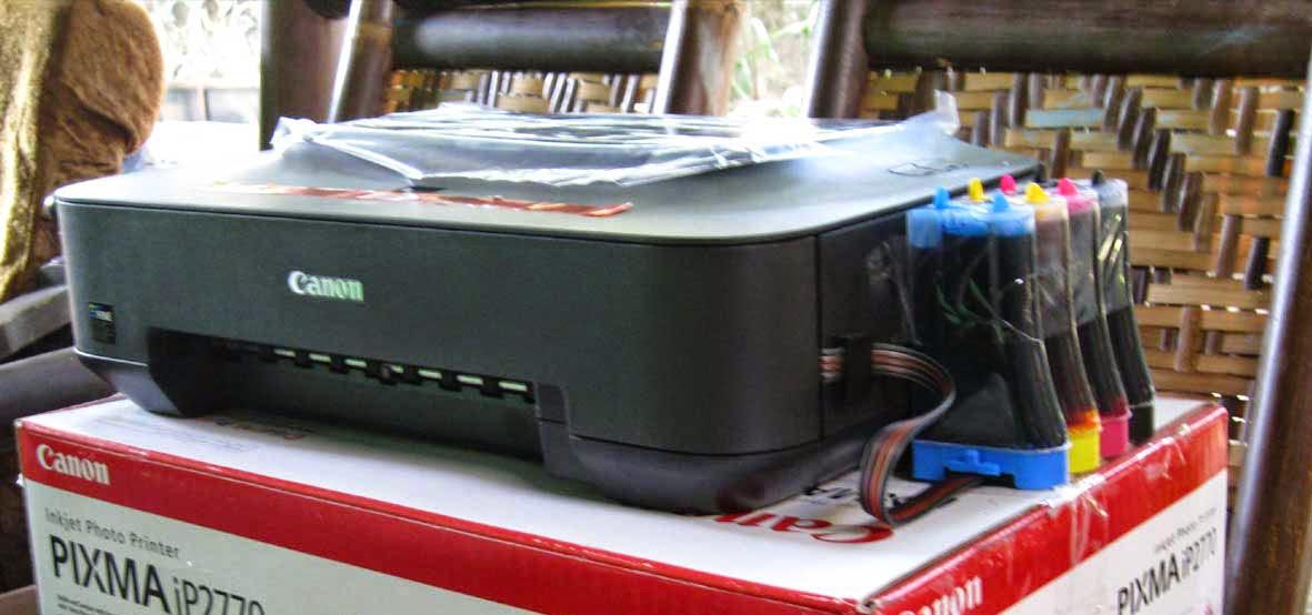 Tips Merawat Printer Canon Yang Di Infus