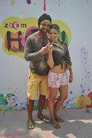 Sunny Leone, Dolly and Tanisha at  Zoom Holi Party