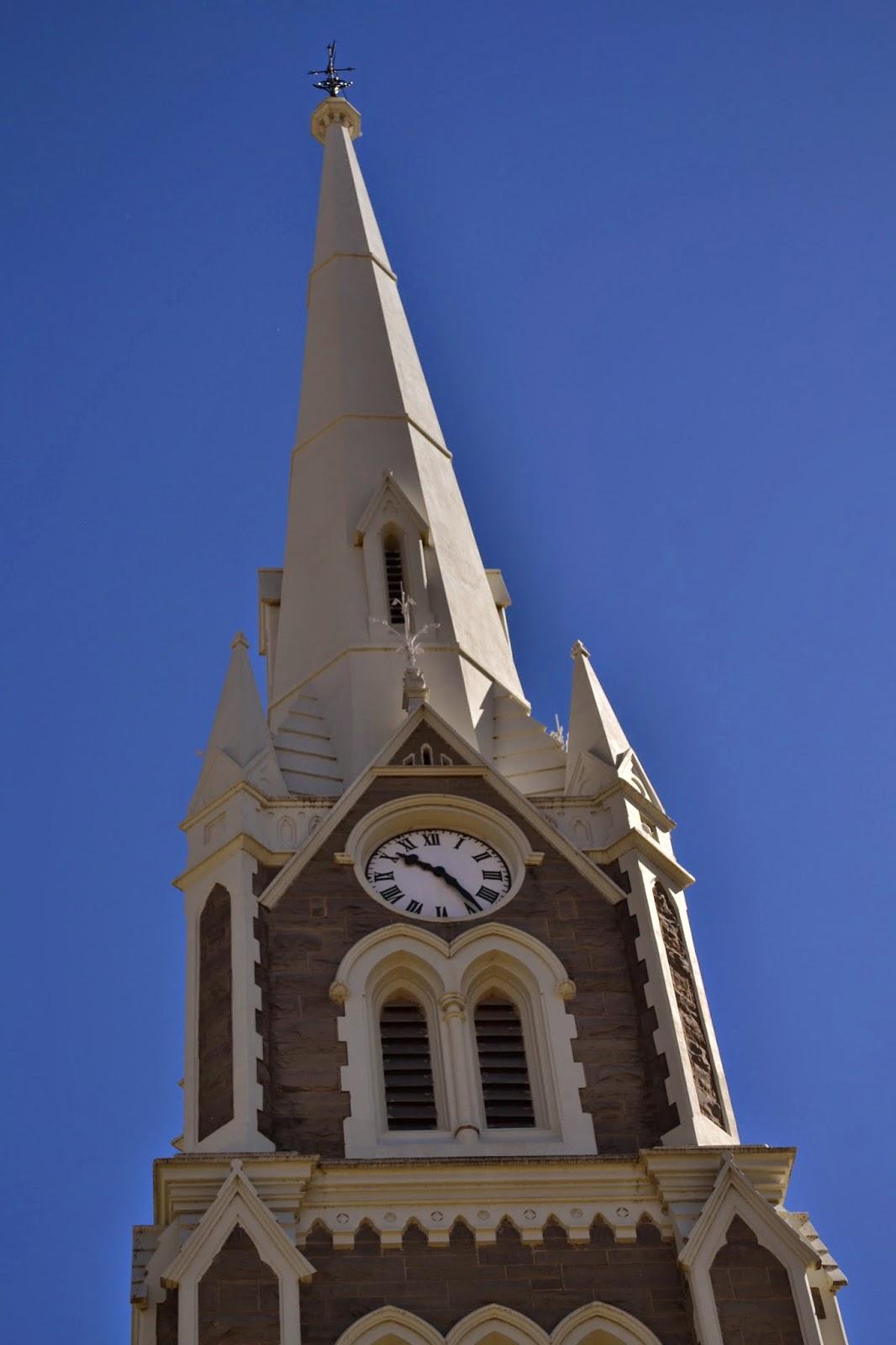 Graaf Reinet NG Kerk clock tower