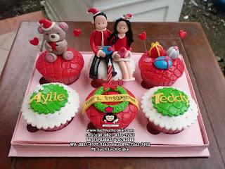 cupcake christmas - natal surabaya