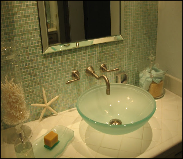 Wonderful Beach Themed Bathroom
