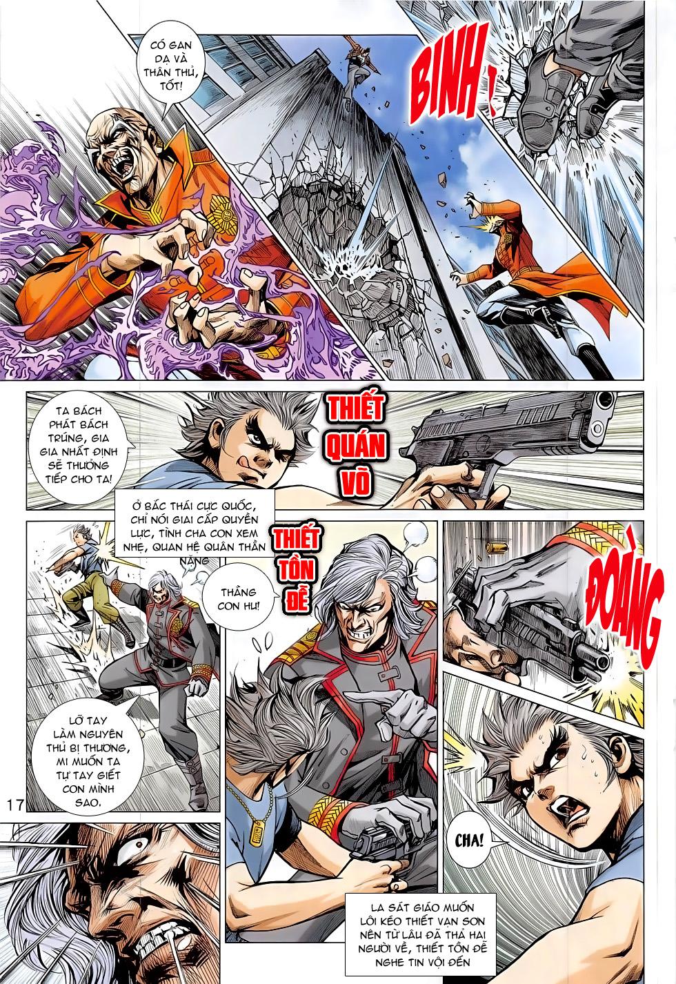 Tân Tác Long Hổ Môn chap 794 Trang 17 - Mangak.info
