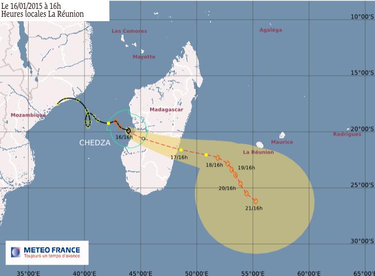 Forte tempête tropicale Chedza