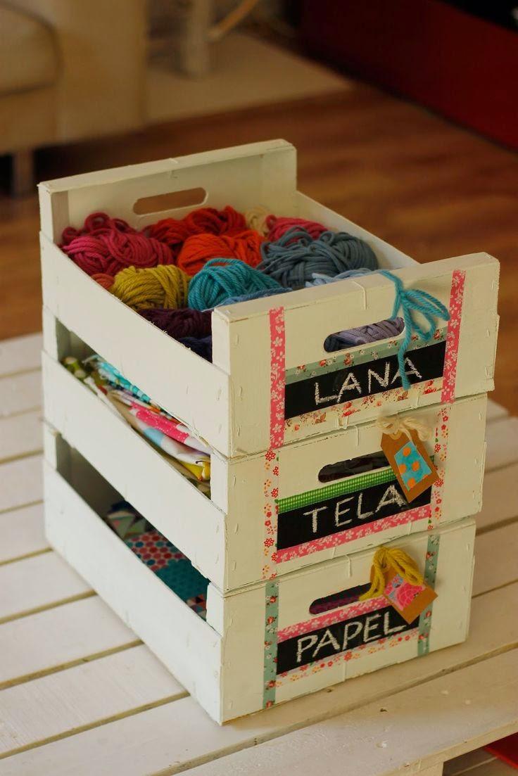 Las diogeneras cajas de fruta tuneadas - Como decorar cajas de fruta ...