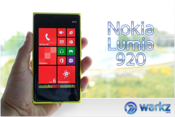 Nokia Lumia 920 Amarillo