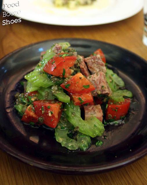 Food, booze and shoes: Osteria Balla: Rustic food in a futuristic ...