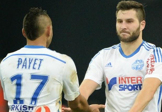 Liga Perancis : Olympique Marseille 3-1 Metz