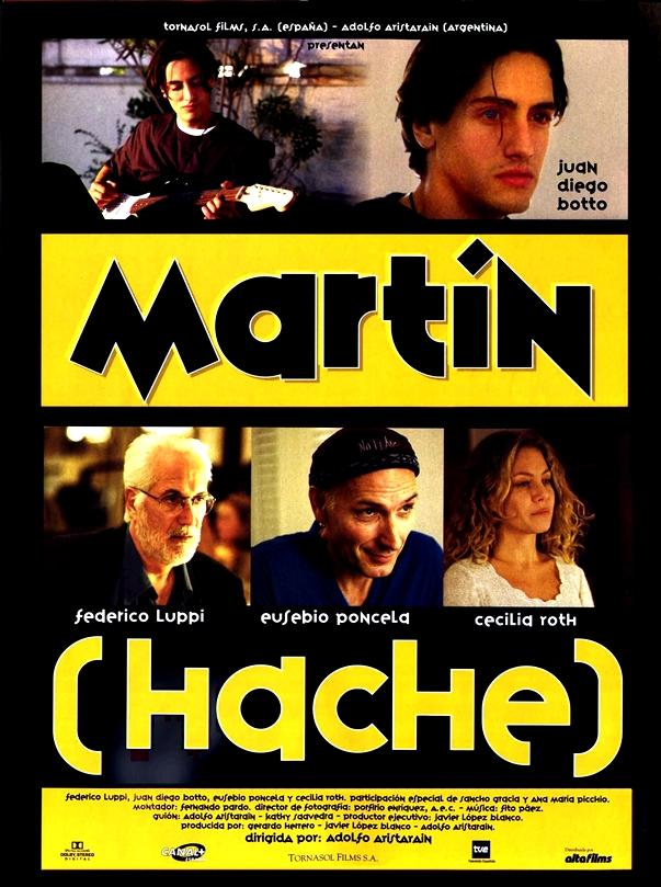Póster Martín (Hache) (1997)