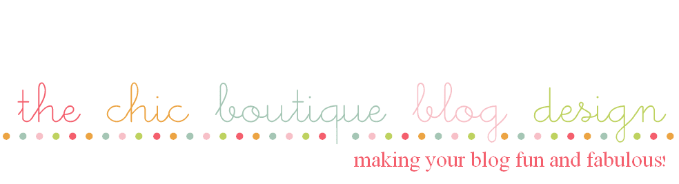 The Chic Boutique Blog Design