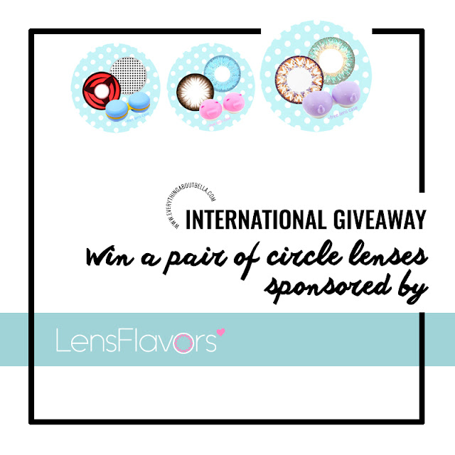 International Circle Lens Giveaway - Beauty Blogger Indonesia